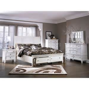 prentice sleigh storage bedroom set millennium furniture