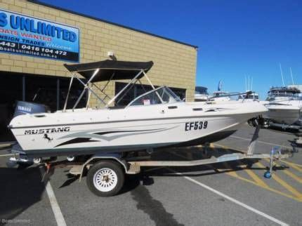 mustang boats for sale perth mustang 1450 bow rider with outboard great all rounder