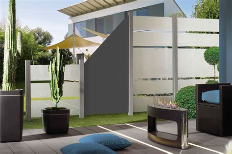 Terrasse Zaun Modern by Grimm Marre Glas Sichtschutz