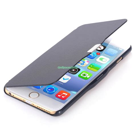 Leatherish Flipcase For Iphone 6 6 Plus Samsung Grand 2 S5 magnetic flip cover leather for iphone 6 6s plus