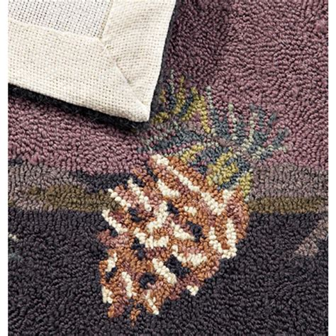 bobs area rugs 8x10 bob timberlake 174 pine cone area rug 133442 rugs at sportsman s guide