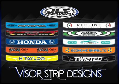 Sticker Decal Visor Helm 2 helmet visor stickers
