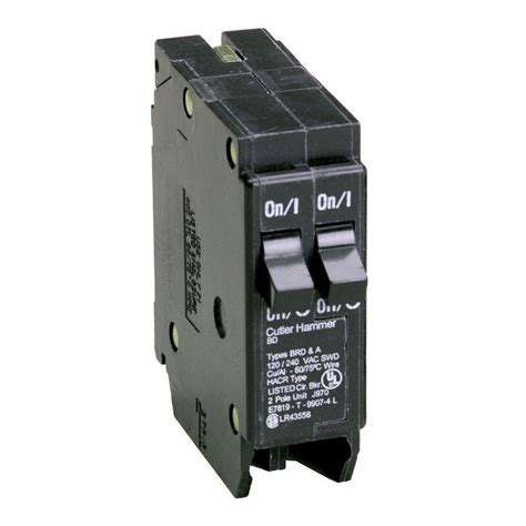 eaton 15 20 single pole type bd tandem br circuit