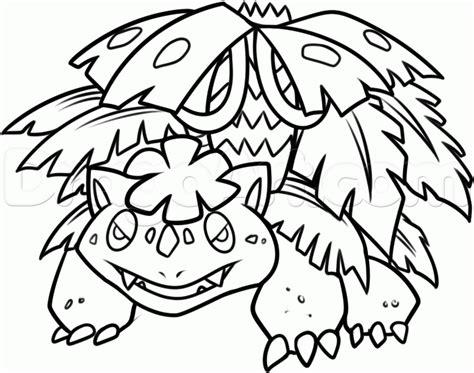 pokemon coloring pages mega venusaur venusaur coloring pages getcoloringpages com