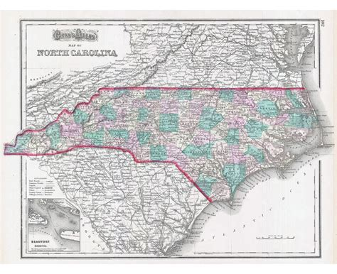 road map of carolina usa maps of carolina state collection of detailed maps