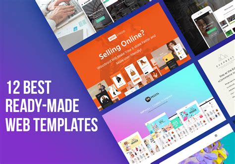 Be Modern 12 Best Ready Made Flagship Templates 2017 Graphicsfuel Ready Made Website Templates