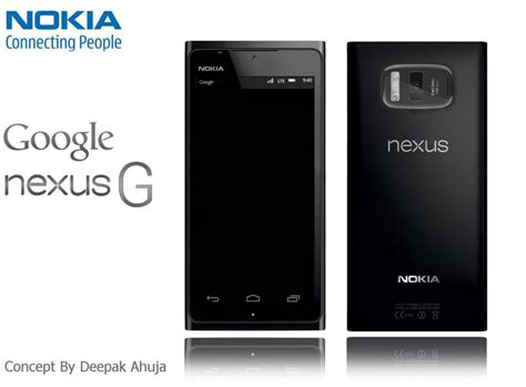 nokia android phone concept android 4 3 based nokia nexus g concept phone sports 21mp