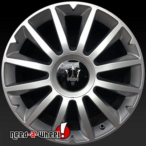 Maserati Wheels For Sale by 18x7 5 Quot Maserati Ghibli Alfieri Oem Wheels 2013 2015