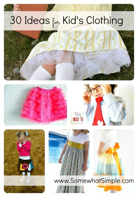 Childrens Handmade Clothes - sew adorable 30 handmade clothes for somewhat simple