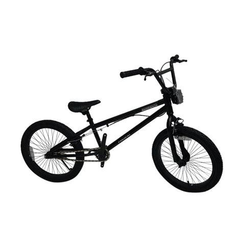 Jual Sepeda Anak Bmx 20 Pacific Black Magic Murah jual pacific black out sepeda bmx black 20 inch harga kualitas terjamin blibli