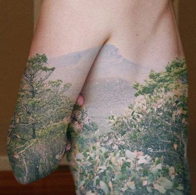 forest scene tattoo nature for the of self expression