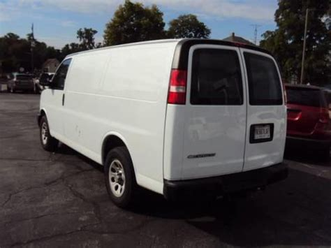 how it works cars 2011 chevrolet express 1500 parking system purchase used 2011 chevrolet express 1500 work van in 325 w 2nd st rushville indiana united