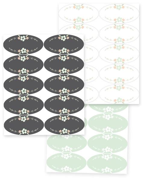 free printable oval jar labels pin by labels worldlabel com on printable labels and tags