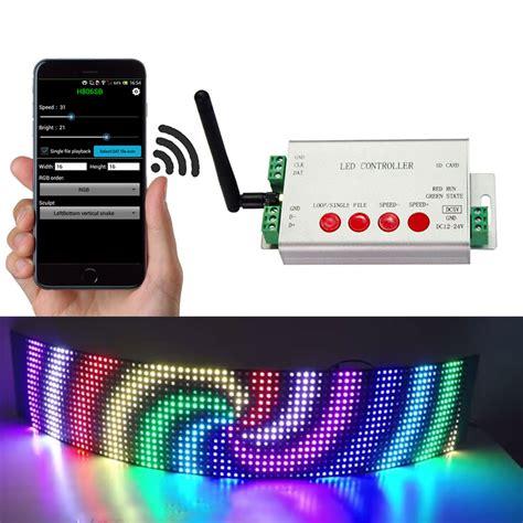Addressable Led Dmx Controller - dc5 24v led digital wifi dmx512 controller 2048 pixel