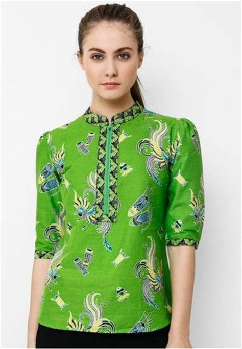 Pearl Top Atasan Batik Blouse Batik Modern Wanita Cheongsam Premium 138 best images about floral dress on cheongsam modern models and kebaya