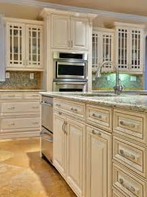 Ivory White Kitchen Cabinets Painted Glazed Cabinet Doors S House
