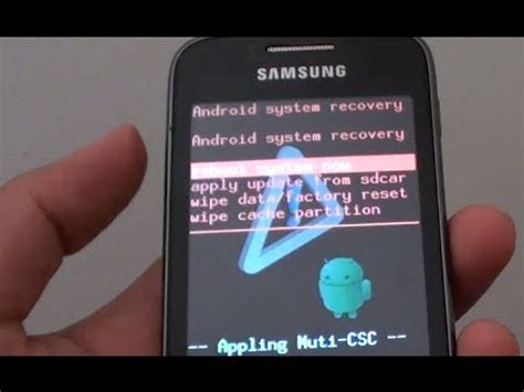 reset samsung galaxy y s6102 easy