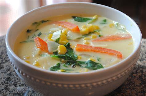 thai coconut soup vegetarian recipe vegetarian thai coconut curry soup