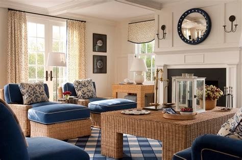 nantucket summer home traditional living room boston