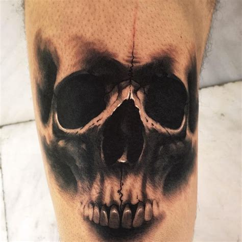 tattoo black and grey skull grey masonic skull tattoo by stu mo