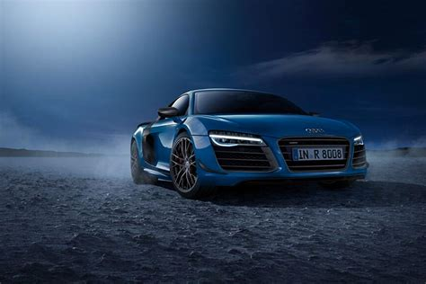 limited edition audi r8 lmx with laser headlights 95 octane