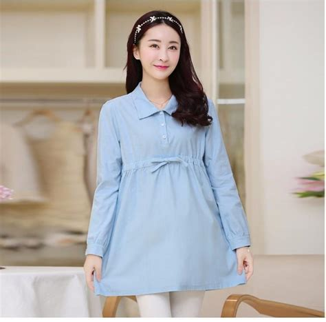 hot office pregnancy casual maxi maternity blouse dresses clothes pregnancy