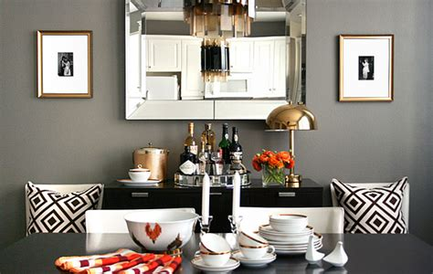 grey dining room paint color design ideas