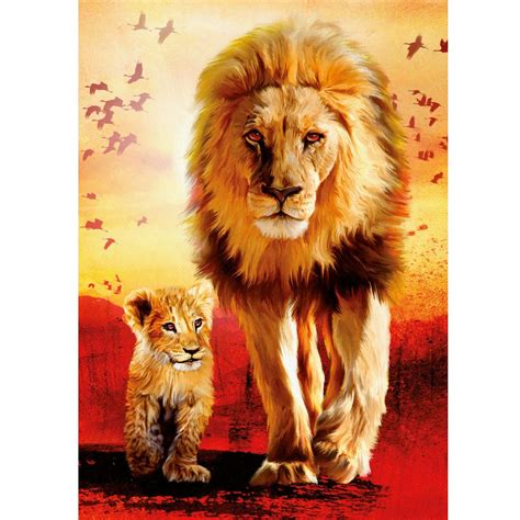 Jigsaw Puzzle Schmidt Cuddly Cats 1000 Pieces jigsaw puzzle 1000 pieces lions steps