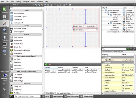 qt designer resize widget in layout developing widget based applications qt creator manual