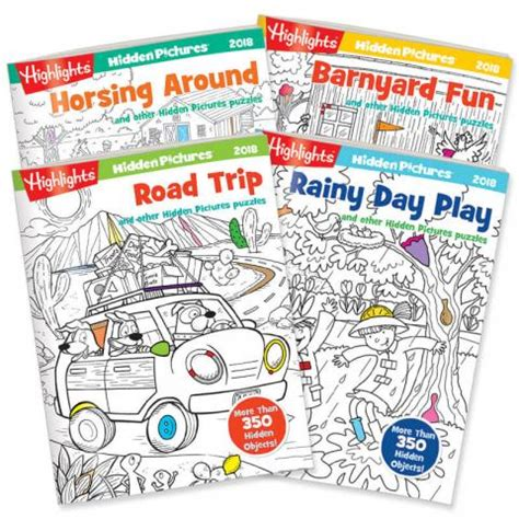 highlights picture books pictures 174 2018 4 book set highlights for children