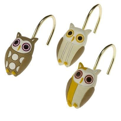 Owl Shower Curtain Hooks by Owl Shower Curtain Hooks Owls For Lynnie