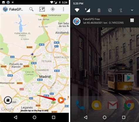 how to change or gps location on android beebom
