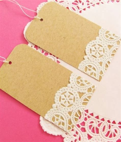 Handmade Tags For Crafts - diy gift tags crafts