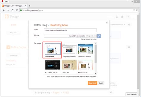 membuat blog download cara mudah membuat blog blogspot com graphic design by