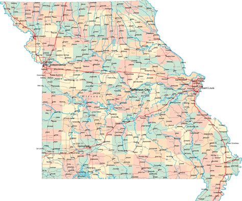 missouri map assessment colleges and universities missouri colleges and