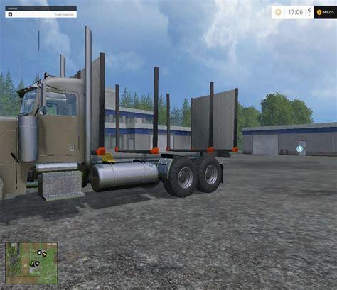 cummins pickup bed log truck for fs15 farming simulator log bed to add in ge mod fs15 mod download