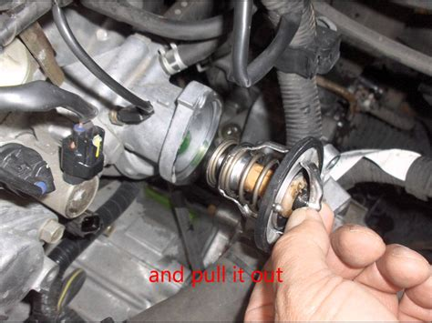 how to replace the thermostat in a 2006 aston martin vanquish s 2001 5 4 triton temperature sensor location autos post