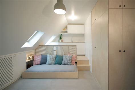 Studio Apartment Bed Solutions by Romain Batiik Studio