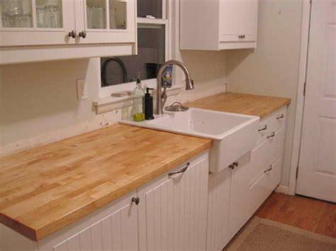 butcher block countertops design