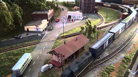 mdl layout n scale model train layout quot blue ridge quot youtube
