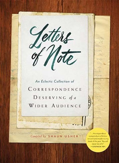 letters of note the book us edition