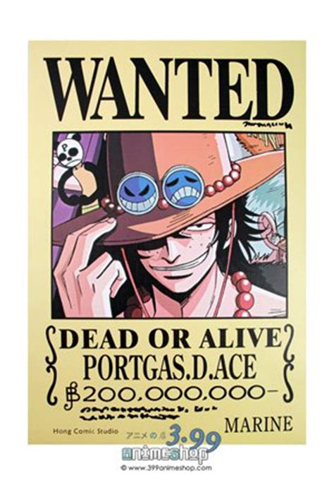 membuat poster wanted one piece one piece portgas d ace wanted poster for sale