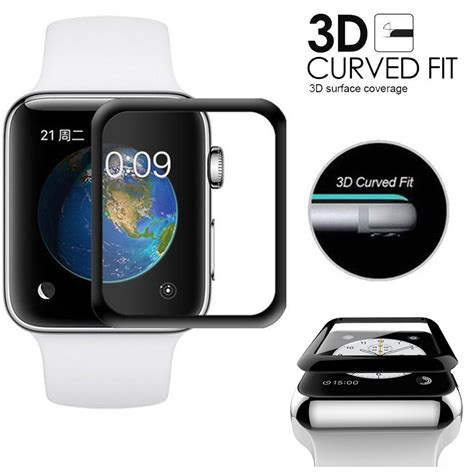 Tempered Glass Apple 1 2 3 42mm Or 38mm for apple iwatch 38mm 42mm series 3 2 1 9h tempered glass screen protector ebay