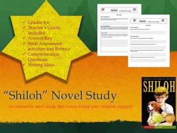 shiloh lesson plans shaped book report project templates doc 16 best images about shiloh on