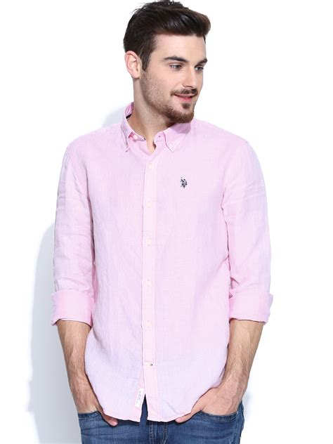 light pink mens dress shirt getting the casual pink shirt for fashionarrow com