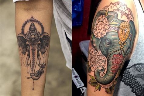elephant tattoo umbrella go wild and crazy with these animal tattoos