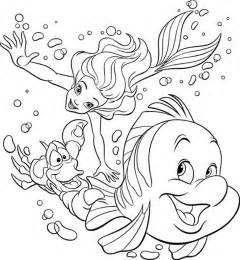 free coloring pages of mermaid for adults