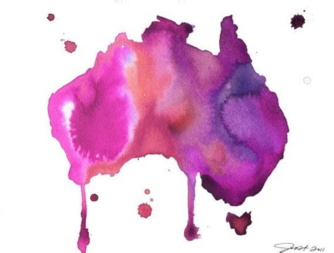 watercolor tattoo brisbane best 25 australia map ideas on map of