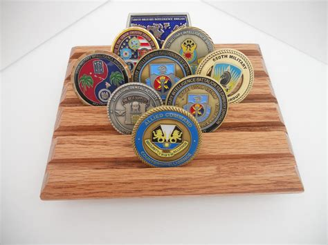 Coin Racks by Challenge Coin Display Rack Coin Holder