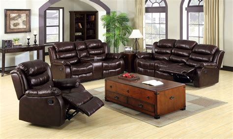 rustic reclining sofa berkshire rustic brown reclining loveseat with console